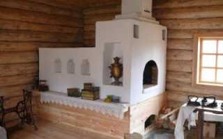Согреет и накормит: русская печь с лежанкой и плитой