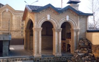 Кирпичная кладка арок, сводов и перемычек