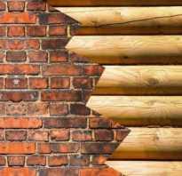 Крепление бруса к стене