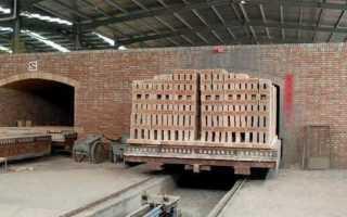 Печь для обжига кирпича дома и на производстве