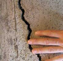 Чем внутри бетонного, кирпичного, панельного или нового дома заделывать трещины: как и чем замазывать стены