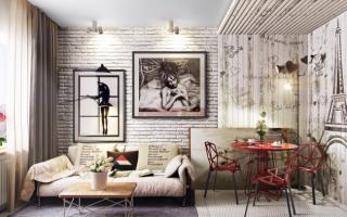 60 идей кирпичной стены в интерьере (фото)