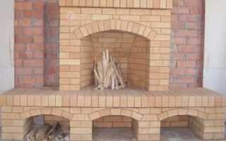 Как сложить камин из кирпича своими руками — пошаговая инструкция
