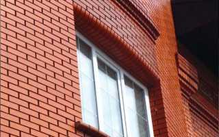 Отделка фасада под кирпич