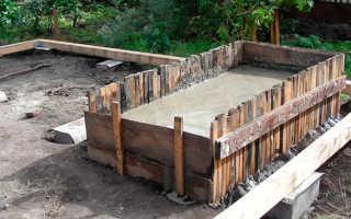 Фундамент под печь — строим грамотно