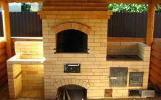 Строительство уличной печи для приготовления пищи на даче