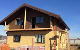 Дом из керамического кирпича строительство и отделка