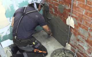 В помощь домашнему мастеру: как производится штукатурка кирпичных стен