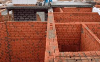 Строительство кирпичного дома своими руками