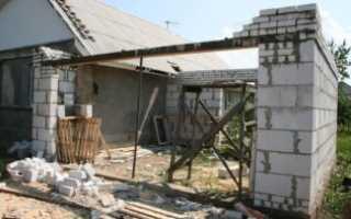 Можно ли пристроить гараж к дому: порядок проведения строительных работ