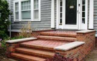 Крыльцо из кирпича: как украсить парадный вход в дом