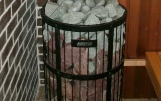 Сетка для камней на трубу в баню своими руками