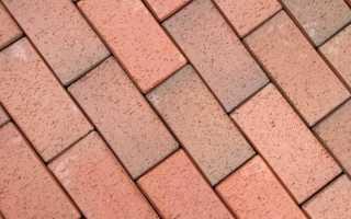 Тротуарная плитка кирпичик (кирпич): виды, размеры, варианты укладки, узоры