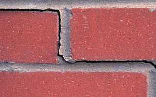 Как грамотно производится ремонт швов кирпичной кладки фасада