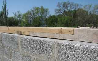 Как крепить мауэрлат на стены