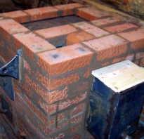 Как построить печь для бани из кирпича: технология кладки
