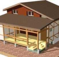 Деформационный шов между домом и пристройкой