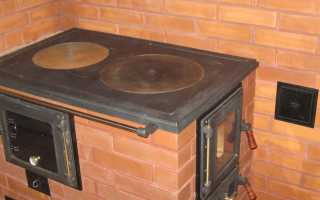 Отопительно-варочная печь малютка своими руками