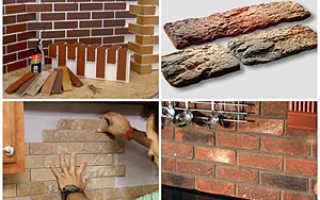 Разновидности плитки для внутренней отделки под кирпич