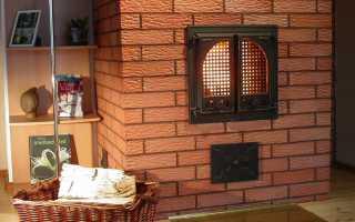 Чем замазать печь, чтобы она не трескалась от жара; важные советы