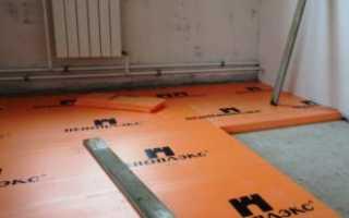 Как правильно класть пеноплекс на бетонную стяжку