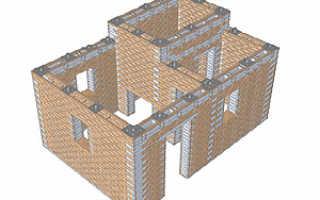 Технология строительства дома из деревянных кирпичей
