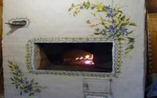 Как и чем побелить печь в доме