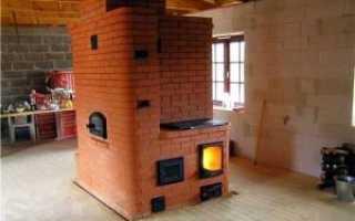 Отопительно-варочная печь: особенности строения и порядовки