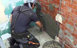 Как и чем правильно оштукатурить кирпичную стену своими руками: пошаговая инструкция, видео
