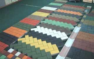 Варианты укладки брусчатки; во дворе и на даче, названия и виды, фото и схемы дорожек из тротуарной плитки