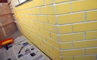 Как правильно покрасить кирпичную стену на балконе