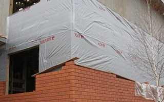 Как обложить каркасный дом кирпичом