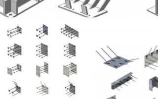 2 способа установки закладных деталей в бетон
