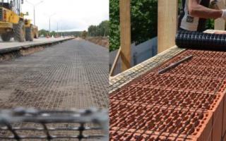 6 видов кладочной сетки: их применение в строительстве